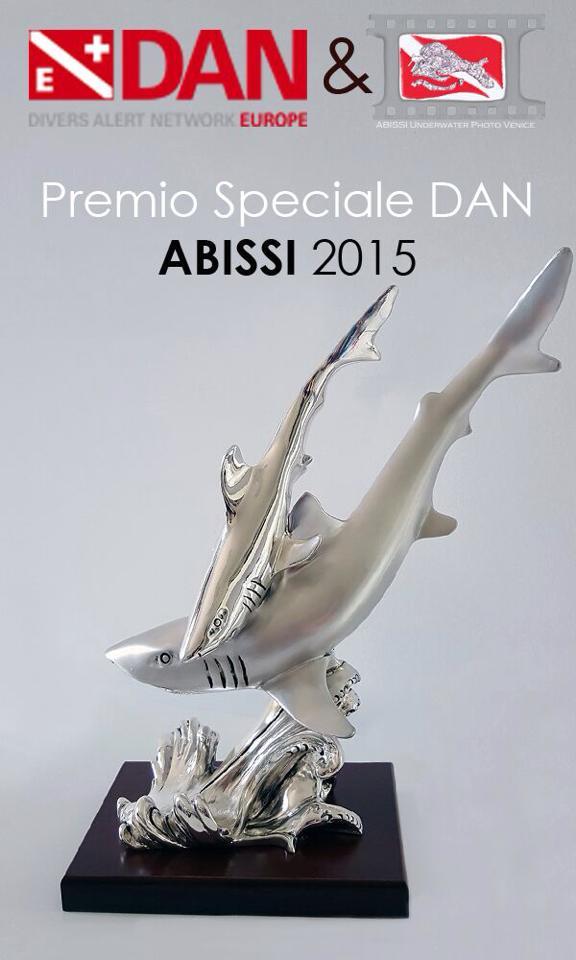 Premio speciale DAN al concorso fotosub Abissi - Venezia 2015