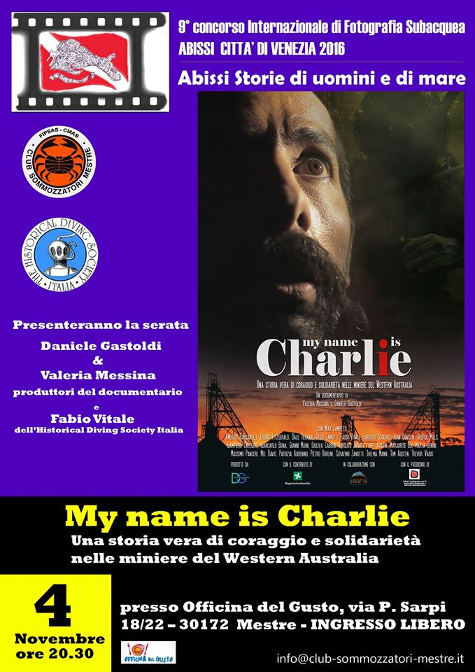 My name is Charlie