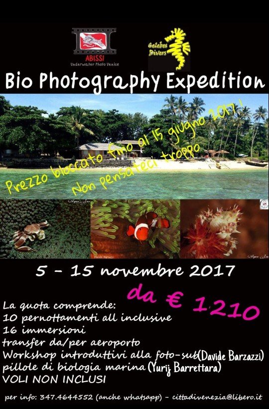 Bio Photography Expedition 2017