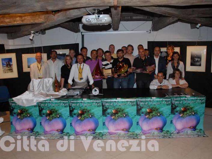 Cerimonia Premiazione 2008